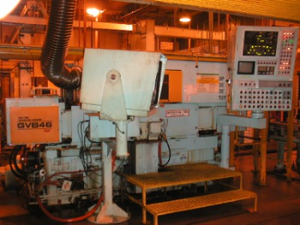 Toyoda, GVB46 CNC, New 1992,CBN Grind Wheel,Marposs E39 Gauge, Toyoda CNC CNTL